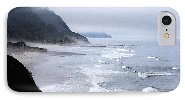 Beach Frontage In Monet IPhone Case
