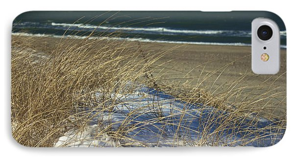 IPhone Case featuring the photograph Beach Grass by Amazing Jules