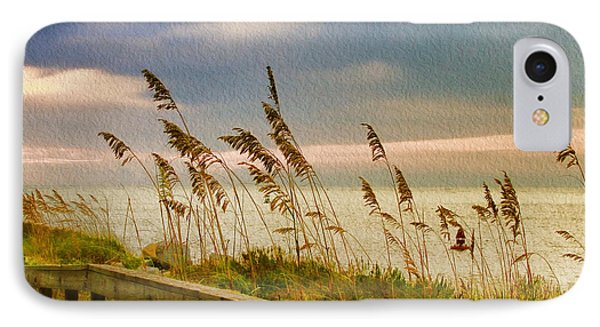 Beach Grass IPhone Case by Deborah Benoit