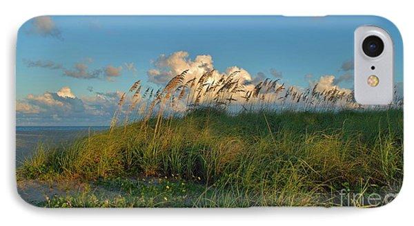 Beach Greenery Panorama IPhone Case by Bob Sample