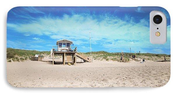 Beach Guard - Sylt Phone Case by Hannes Cmarits
