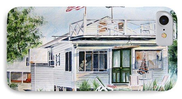 Beach House Phone Case by Brian Degnon