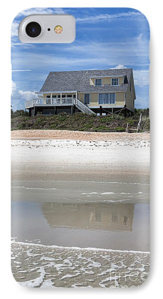 Beach House Phone Case by Kay Pickens