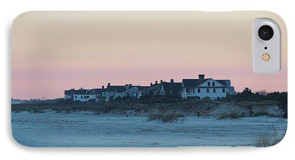 Beach Houses IPhone Case by Cynthia Guinn