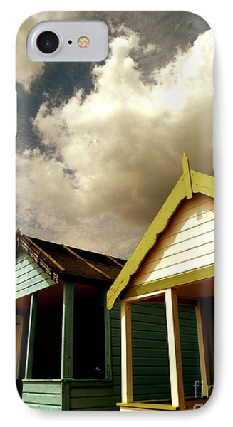 IPhone Case featuring the photograph Beach Huts by Vicki Spindler