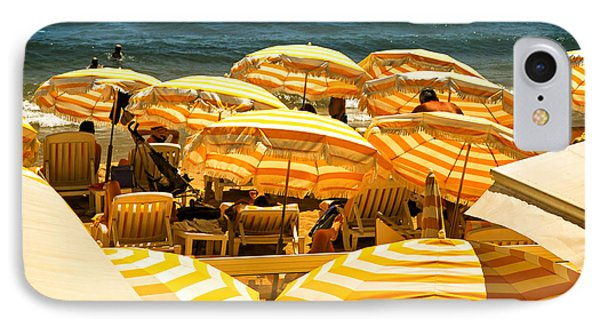 Beach In Cannes  IPhone Case by Elena Elisseeva