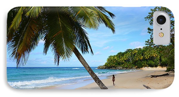 IPhone Case featuring the photograph Beach In Dominican Republic by Jola Martysz