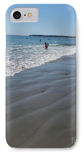 IPhone Case featuring the photograph beach in Maine by Rose Wang