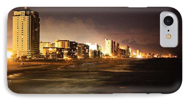 Beach Line IPhone Case by Tammy Schneider