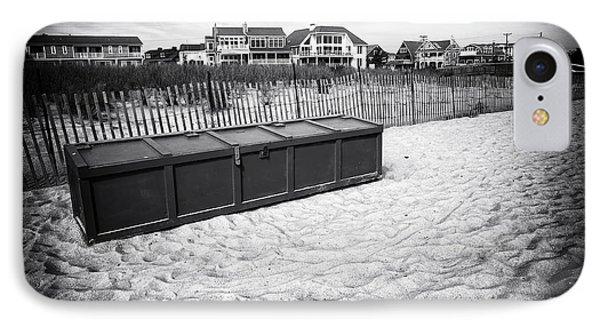 Beach Locker Phone Case by John Rizzuto