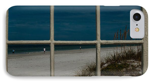 Beach Lookout IPhone Case by Randy Sylvia