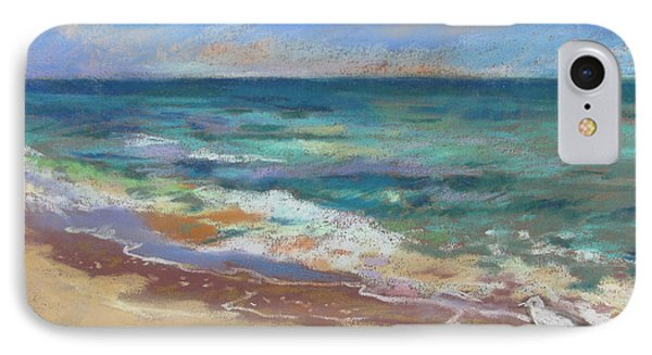 IPhone Case featuring the painting Beach Meditation by Linda Novick