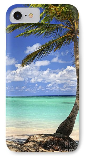 Beach Of A Tropical Island IPhone Case by Elena Elisseeva