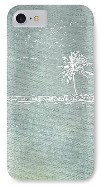 Beach Palm I IPhone Case