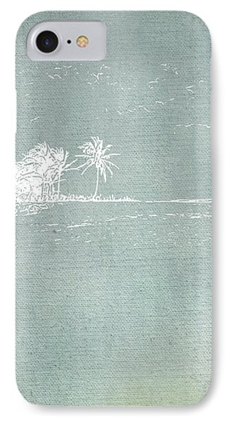 Beach Palm II IPhone Case