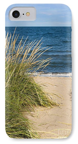 Beach Path IPhone Case by Barbara McMahon