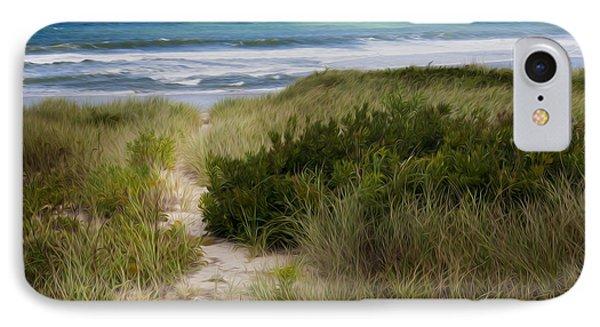 Beach Path Phone Case by Bill Wakeley