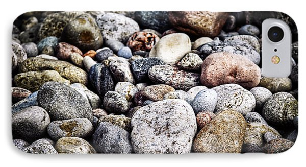 Beach Pebbles  IPhone Case by Elena Elisseeva