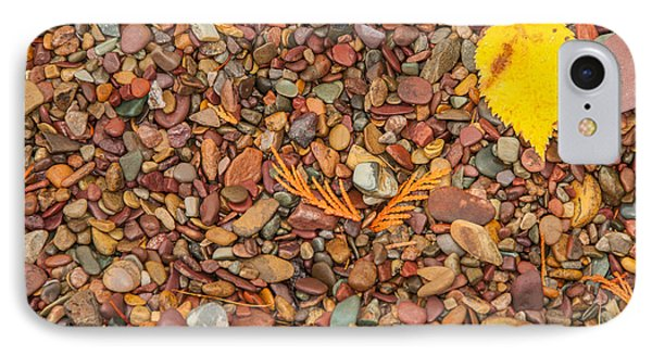 Beach Pebbles Of Montana IPhone Case by Brenda Jacobs