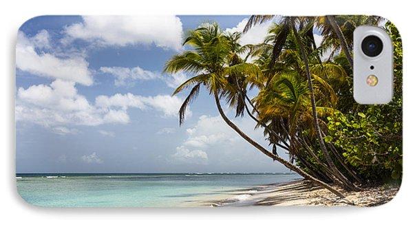 Beach Pigeon Point Tobago West Indies IPhone Case by Konrad Wothe