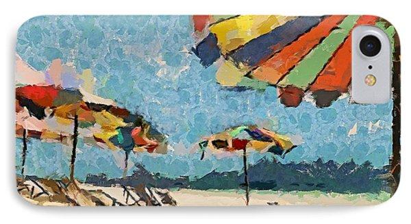 Beach Rainbows Phone Case by Dragica  Micki Fortuna