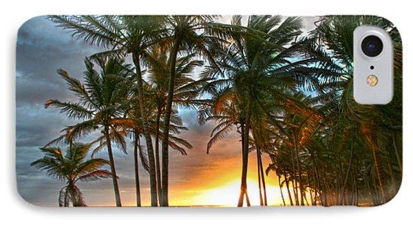 Beach Road IPhone Case by Robert Och