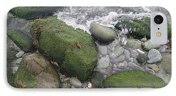 Beach Rocks IPhone Case by Robert Nickologianis
