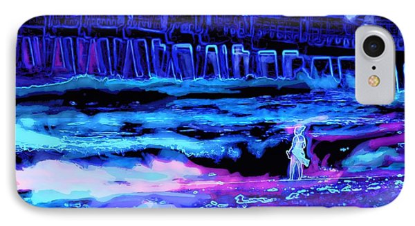 Beach Scene At Night IPhone Case
