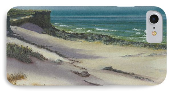 Beach Shadows IPhone Case by Jeanette French