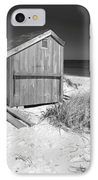 Beach Shed IPhone Case by Michelle Wiarda