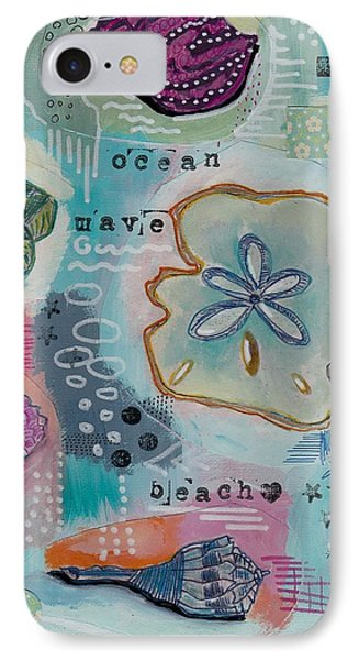 Beach Shells Collage IPhone Case