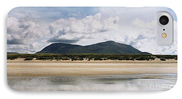 IPhone Case featuring the photograph Beach Sky And Mountains by Rebecca Harman