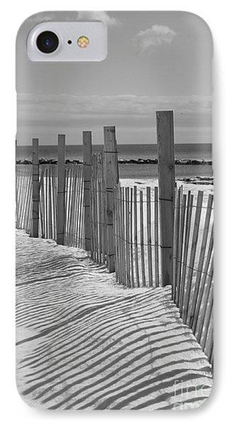 Beach Snow  Phone Case by Catherine Reusch Daley