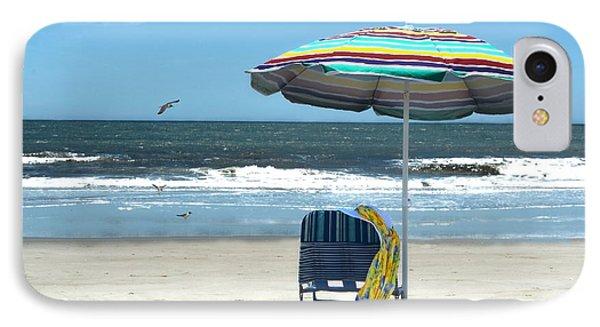 Beach Solitude Phone Case by Sandi OReilly
