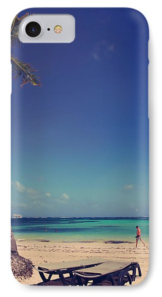 Beach Stroll IPhone Case by Laurie Search