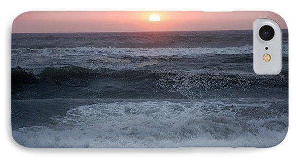 Beach Sunset Phone Case by Holly Blunkall