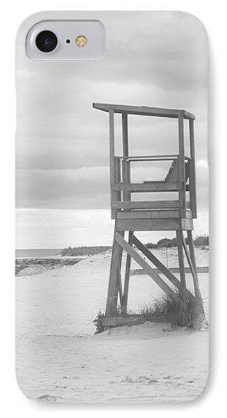 Beach Throne Harwich Ma Bw I IPhone Case by Suzanne Powers