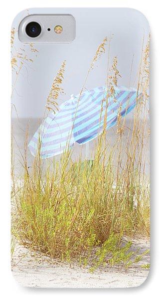 Beach Time IPhone Case by Kim Hojnacki
