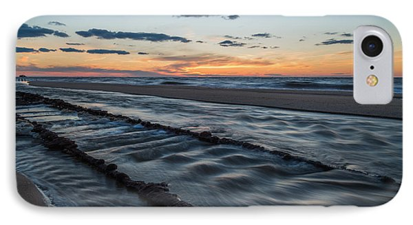 Beach Tracks IPhone Case by Kristopher Schoenleber