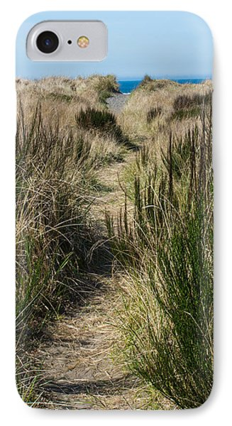Beach Trail IPhone Case by Tikvah's Hope