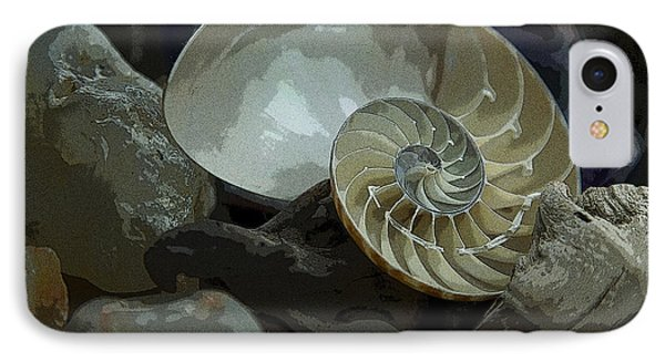 IPhone Case featuring the photograph Beach Treasures by Jeanette French