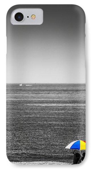 Beach Umbrella IPhone Case by Rafael Quirindongo