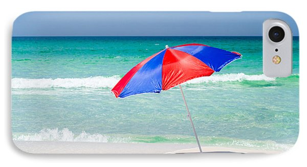 Beach Umbrella IPhone Case by Shelby  Young