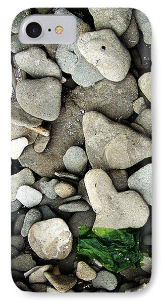 Beach Valentine IPhone Case by Rebecca Sherman