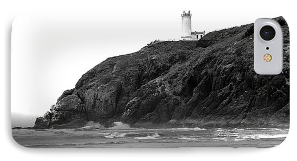 Beach View Of North Head Lighthouse IPhone Case by Robert Bales
