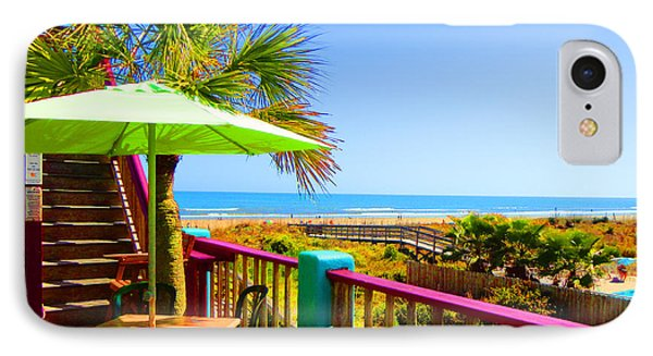 Beach View Of The Ocean By Jan Marvin Studios IPhone Case