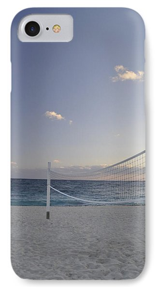 Beach Volleyball Phone Case by A R Williams