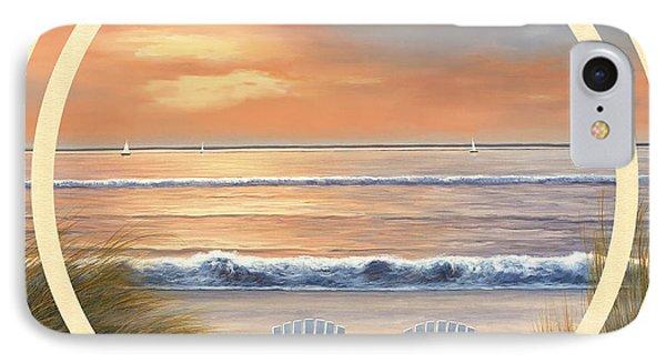 Beach World Phone Case by Diane Romanello