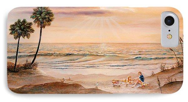 Beachcombers Phone Case by Duane R Probus