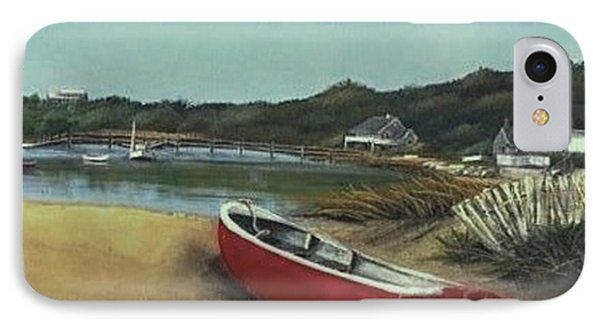 Beached Boat IPhone Case by Diane Strain